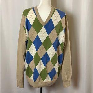Alan Flusser Argyle Sweater